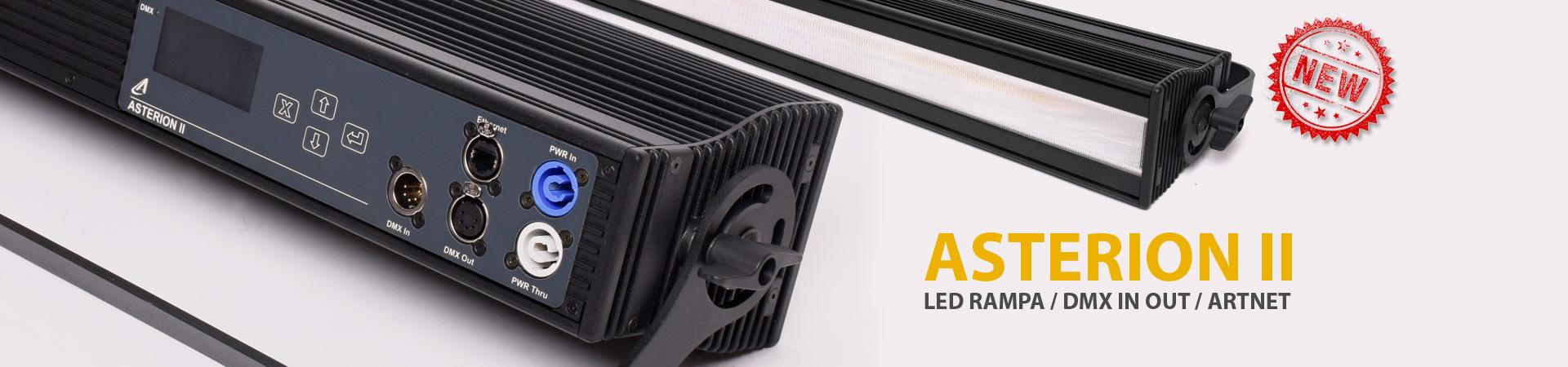 ASTERION 2 - Nová kompaktní LED rampa