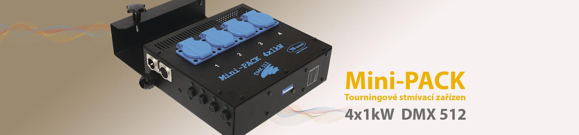 Tourningové stmívací zařízení Mini-Pack 4x1kW